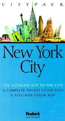 Citypack New York City Fodors Travel Publications Inc.