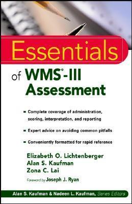 Essentials Of Wms Iii Assessment Elizabeth O. Lichtenberger