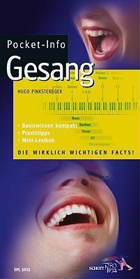 Pocket-Info Gesang:  by  Hugo Pinksterboer