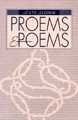 Proems & Poems Ruth Slonim