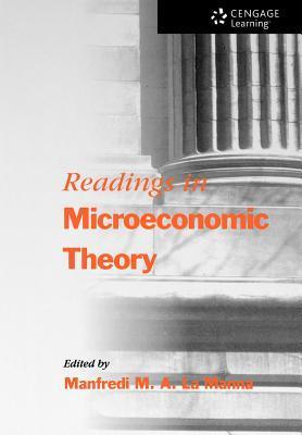 Readings in Microeconomic Theory Manfredi LA Manna