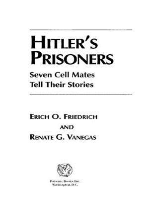 Hitlers Prisoners  by  Erich Friedrich