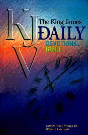 Daily Devotional Bible: King James Version  by  Anonymous