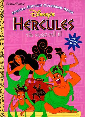 The Muses Tell of Hercules Golden Books