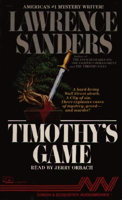 Timothys Game Lawrence Sanders