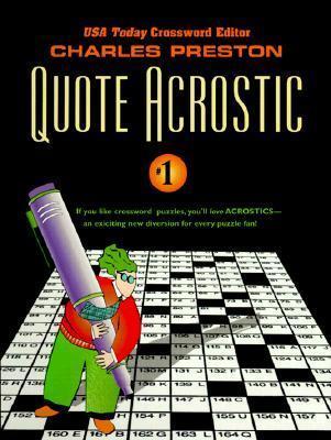 Quote Acrostic 1 Charles Preston