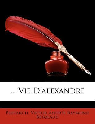 Vie DAlexandre Plutarch
