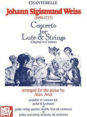 Johann Sigismund Weiss: Concerto in D Minor for Lute and Strings  by  Johann Sigismund Weiss