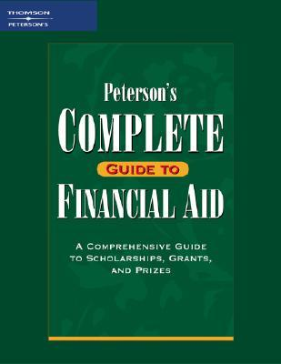 Petersons Complete GD Financial Aid 1e Petersons