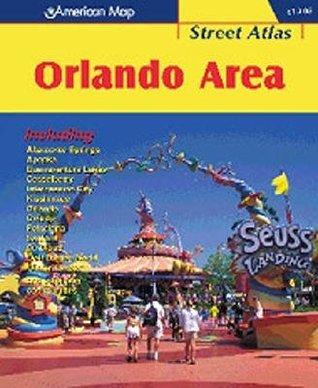 American Map Street Atlas Orlando Area  by  Trakker Maps