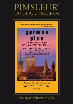 German, Plus: Learn To Speak And Understand German With Pimsleur Language Programs Pimsleur Language Programs