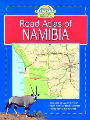 Namibia Travel Atlas  by  Bruce Elder