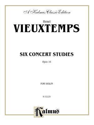 Six Concert Studies, Op. 16 H. Vieuxtemps