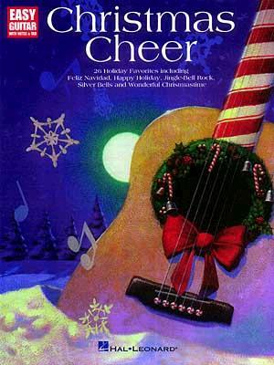Christmas Cheer for Easy Guitar  by  Hal Leonard Publishing Company