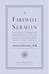 A Farewell Sermon  by  Jonathan Edwards