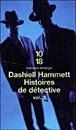 Histoires de détectives, tome 2  by  Dashiell Hammett