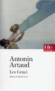Les Cenci  by  Antonin Artaud