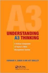 Understanding A3 Thinking: A Critical Component of Toyotas PDCA Management System Durward K. Sobek II.