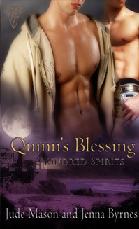Quinns Blessing (Kindred Spirits #4)  by  Jude Mason