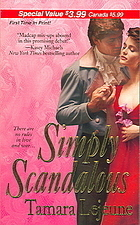 Simply Scandalous  by  Tamara Lejeune