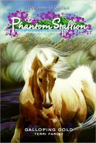 Galloping Gold (Phantom Stallion: Wild Horse Island, #11)  by  Terri Farley