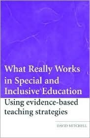 Contextualizing Inclusive Education: Evaluating Old and New International Paradigms David R. Mitchell