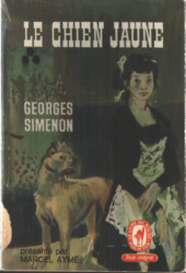 Le Chien jaune  by  Georges Simenon