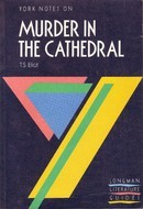 York Notes on Murder in the Cathedral T.S. Eliot (York Notes) by A. Norman Jeffares