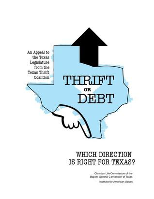 For a New Thrift: Confronting the Debt Culture The Commission on Thrift