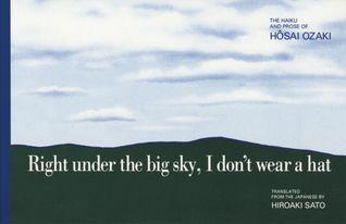 Right under the big sky, I dont wear a hat  by  Ozaki Hôsai