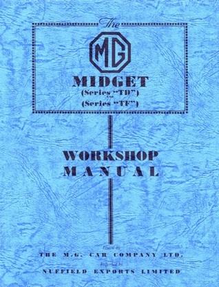 MG Midget TD/TF WSM Brooklands Books Ltd