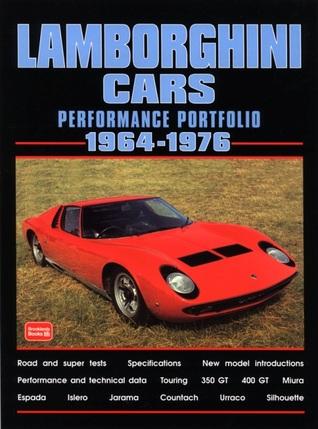 Lamborghini 1964-1976 -Performance Portfolio R.M. Clarke