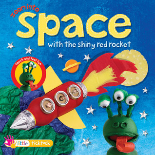Zoom into Space with the Shiny Red Rocket ticktock Media, Ltd.