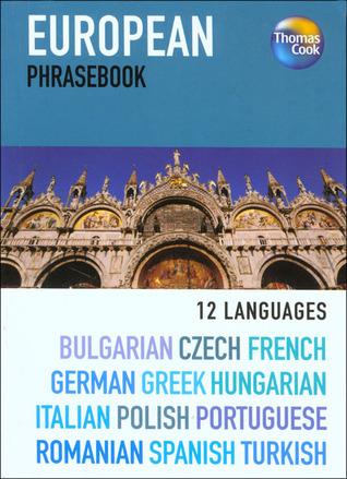 European 12 Language Phrasebook, 3rd Thomas Cook Publishing