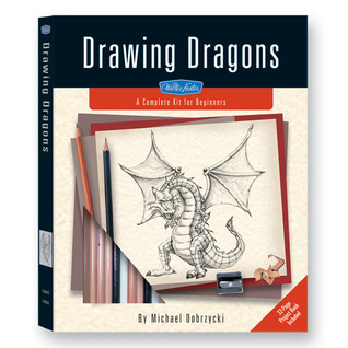 Drawing Dragons Kit: A Complete Drawing Kit for Beginners  by  Michael Dobrzycki