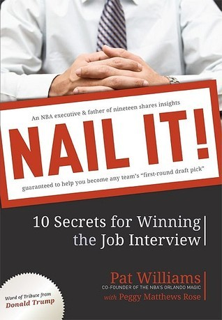 Nail It!: 10 Secrets for Winning the Job Interview  by  Pat Williams