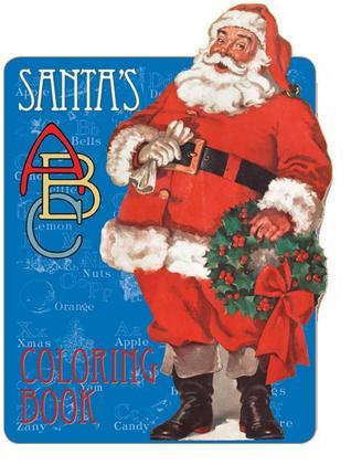 Santas ABC Coloring Book  by  The Editors of Laughing Elephant Publishing
