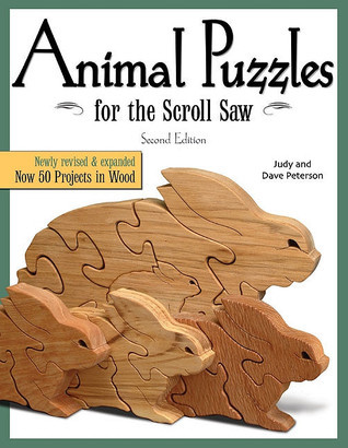 Animal Puzzles for the Scroll Saw  by  Dave Peterson