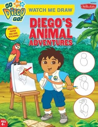Watch Me Draw Nick Jrs. Diegos Animal Adventures  by  Susan Hall