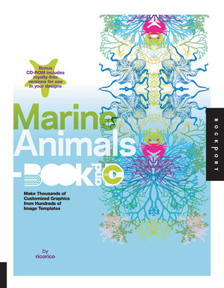 Marine Animals Book and CD: Make Thousands of Customized Graphics from 100 Image Templates ricorico