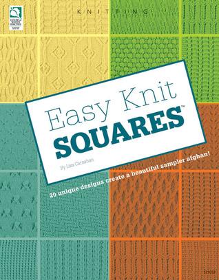 Easy Knit Squares Lisa Carnahan
