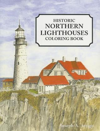 Great Lakes Lighthouse Coloring Book Joseph A Arrigo
