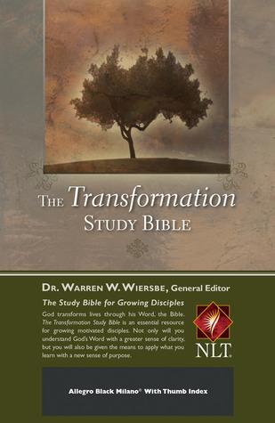 The Transformation Study Bible--Allegro Black Milano w/ Thumb Index  by  Warren W. Wiersbe