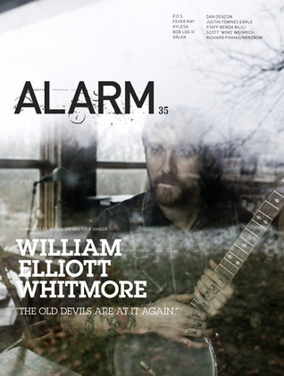 ALARM 35: Music From Nowhere: with William Elliot Whitmore, P.O.S, Fever Ray, Kylesa, Dan Deacon  by  Chris Force