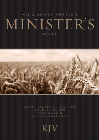 KJV Ministers Bible, Black LeatherTouch Anonymous