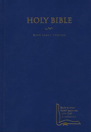 KJV Drill Bible, Blue Hardcover Anonymous