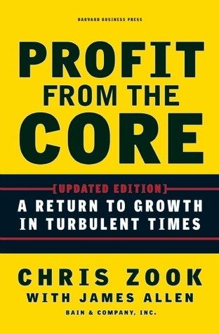 Profit from the Core: A Return to Growth in Turbulent Times  by  Chris Zook