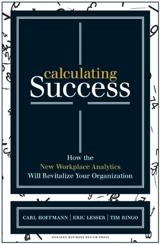 Calculating Success: How the New Workplace Analytics Will Revitalize Your Organization  by  Carl Hoffmann