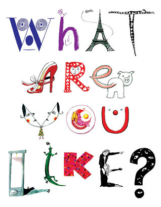 What Are You Like?: Self Revealing Artworks  by  People in the Public Eye by Museum of Illustration
