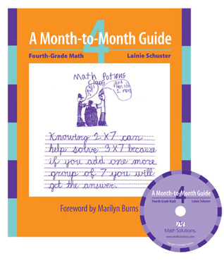 A Month-to-Month Guide: Fourth-Grade Math  by  Lainie Schuster